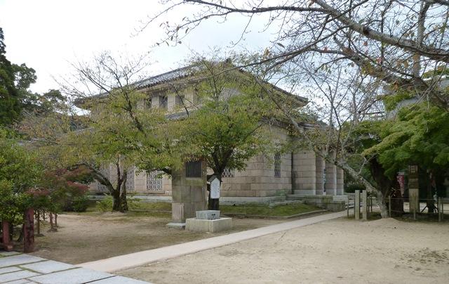 下関市立長府博物館本館(旧長門尊攘堂)