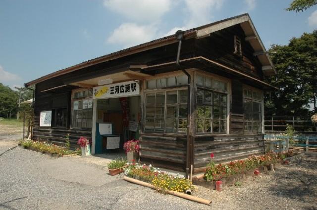 名鉄三河線旧三河広瀬駅