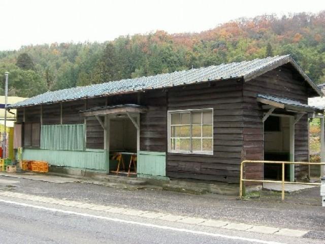 名鉄三河線旧西中金駅