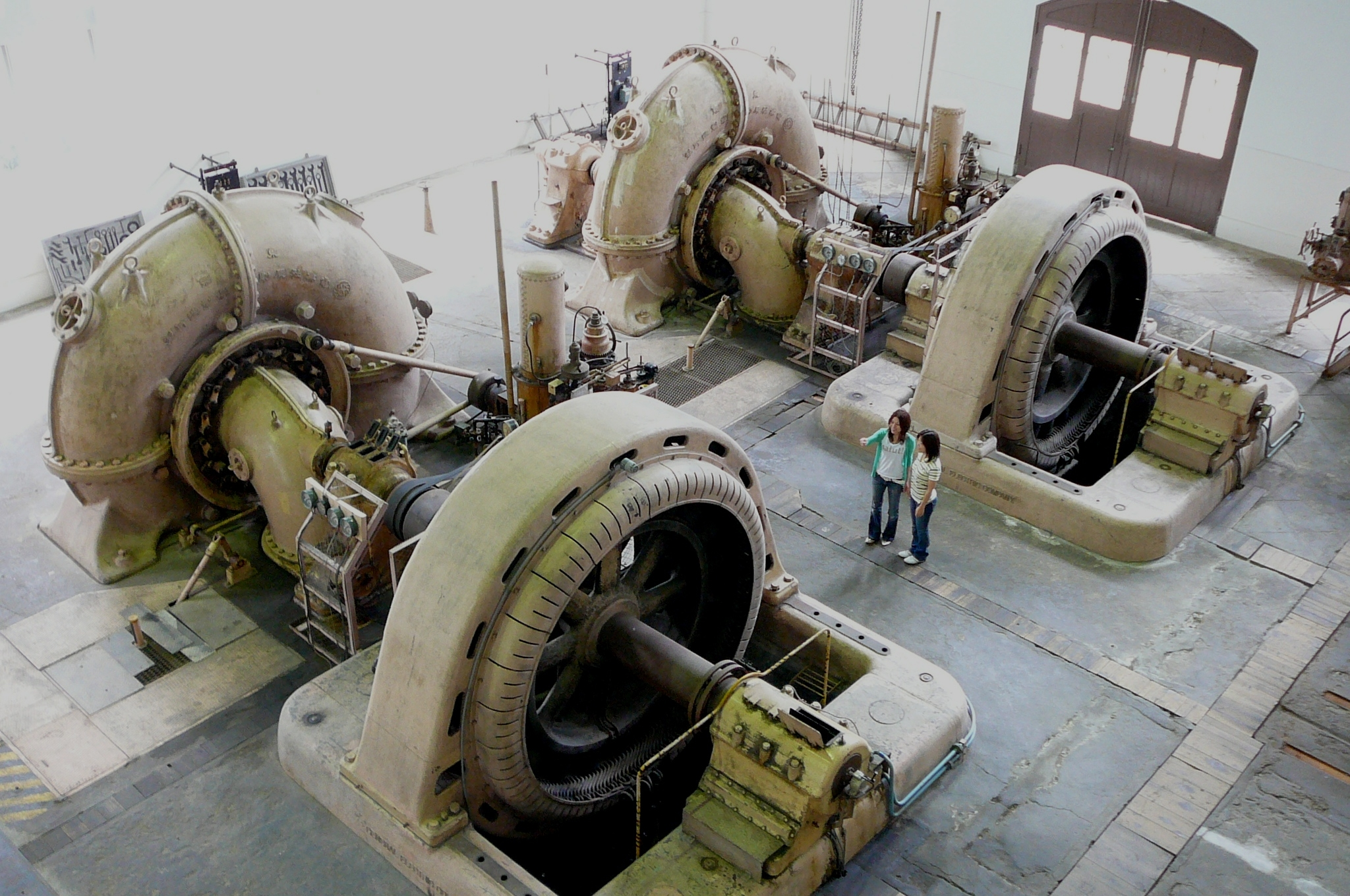 旧八百津発電所施設 発電所(資料館)・放水口発電所