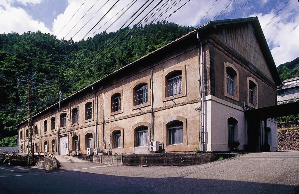 生野鉱山 旧混こう所(現綜合事務所)