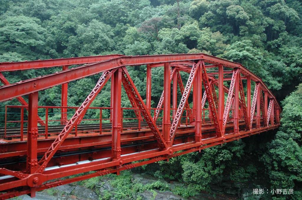 旧別子鉱山鉄道 端出場鉄橋・端出場隧道