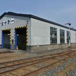 旧小阪鉄道小阪駅機関車庫