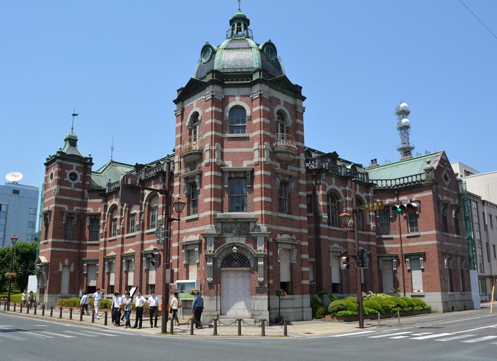 岩手銀行(旧盛岡銀行)旧本店本館(岩手銀行赤レンガ館)