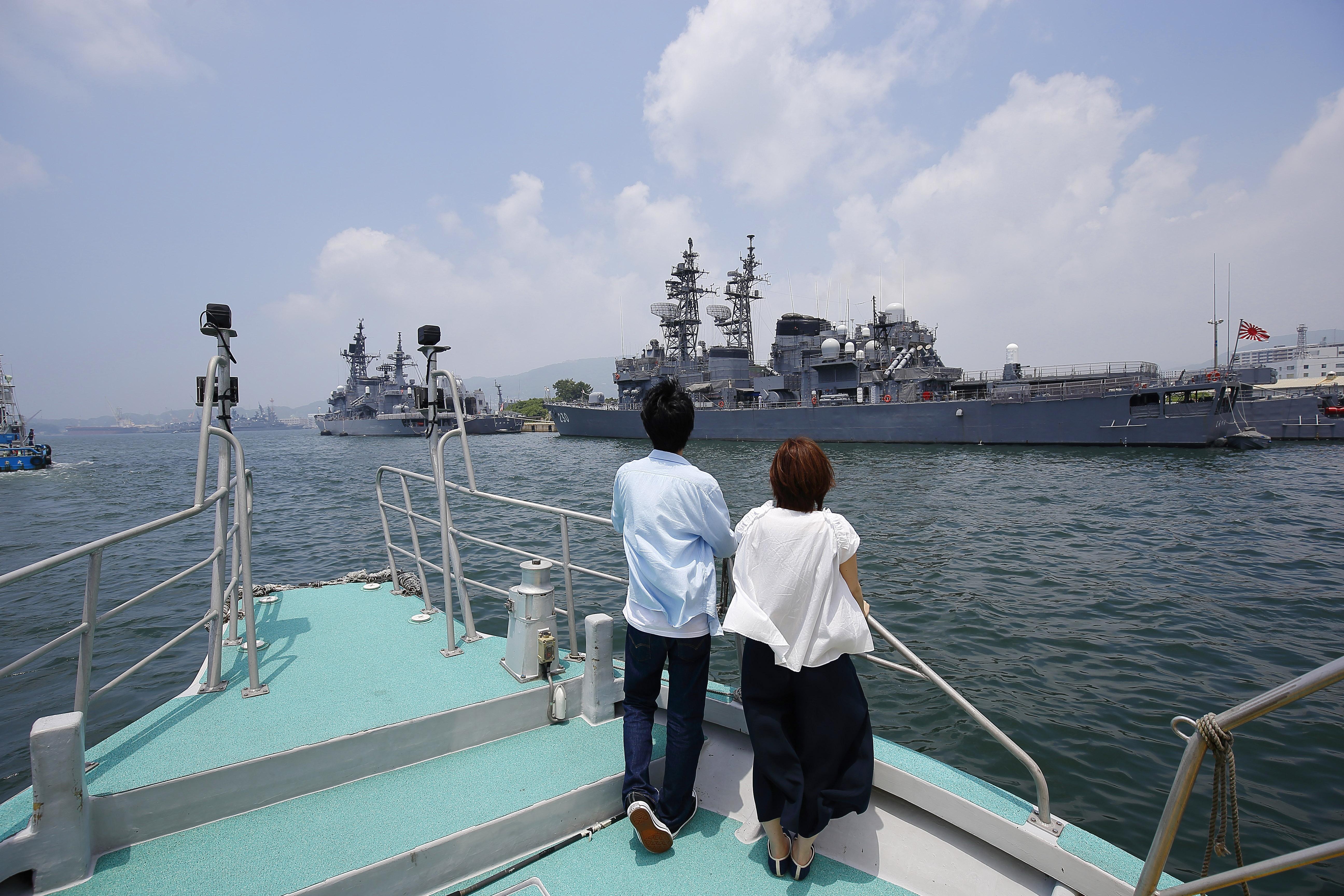 日本遺産を巡る「海軍さんの散歩道」バスツアー