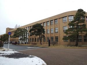 旧東北帝国大学理学部科学教室棟(東北大学本部棟1)