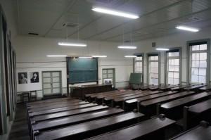 旧仙台医学専門学校六号教室(東北大学魯迅の階段教室)