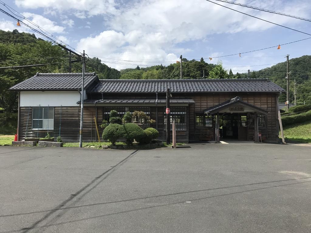JR小浜線松尾寺駅旧本屋