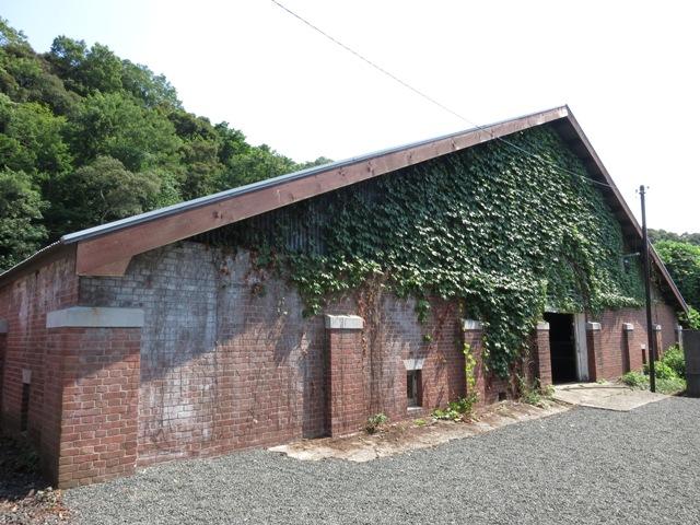 旧北吸浄水場第1・第2配水池(舞鶴旧鎮守府水道施設)