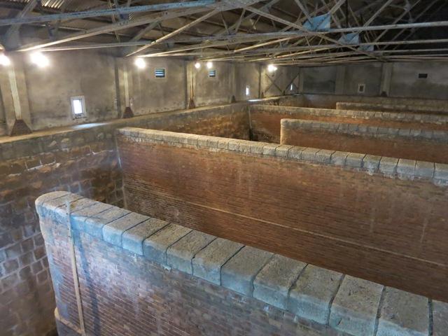 旧北吸浄水場第1配水池(舞鶴旧鎮守府水道施設)