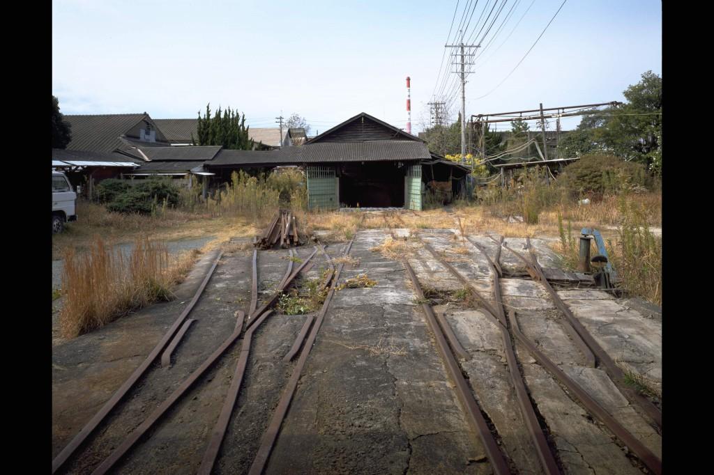 三池炭鉱三川坑跡