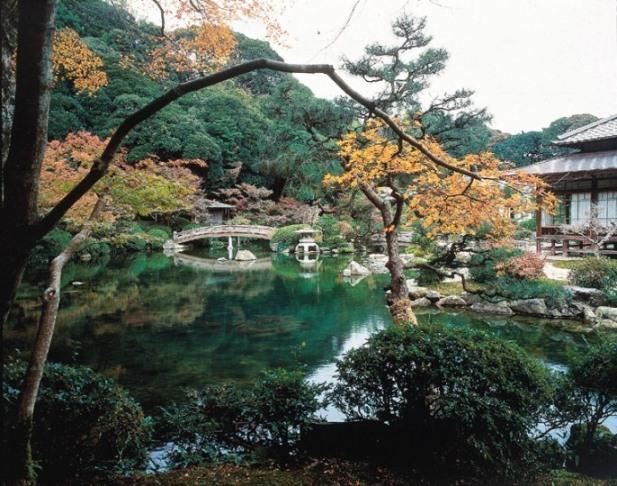 長府庭園緑化月間無料開放
