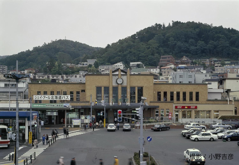 JR小樽駅本屋・プラットホーム