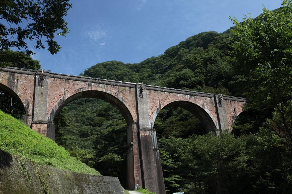 碓氷峠鉄道施設 第三橋梁(通称めがね橋)