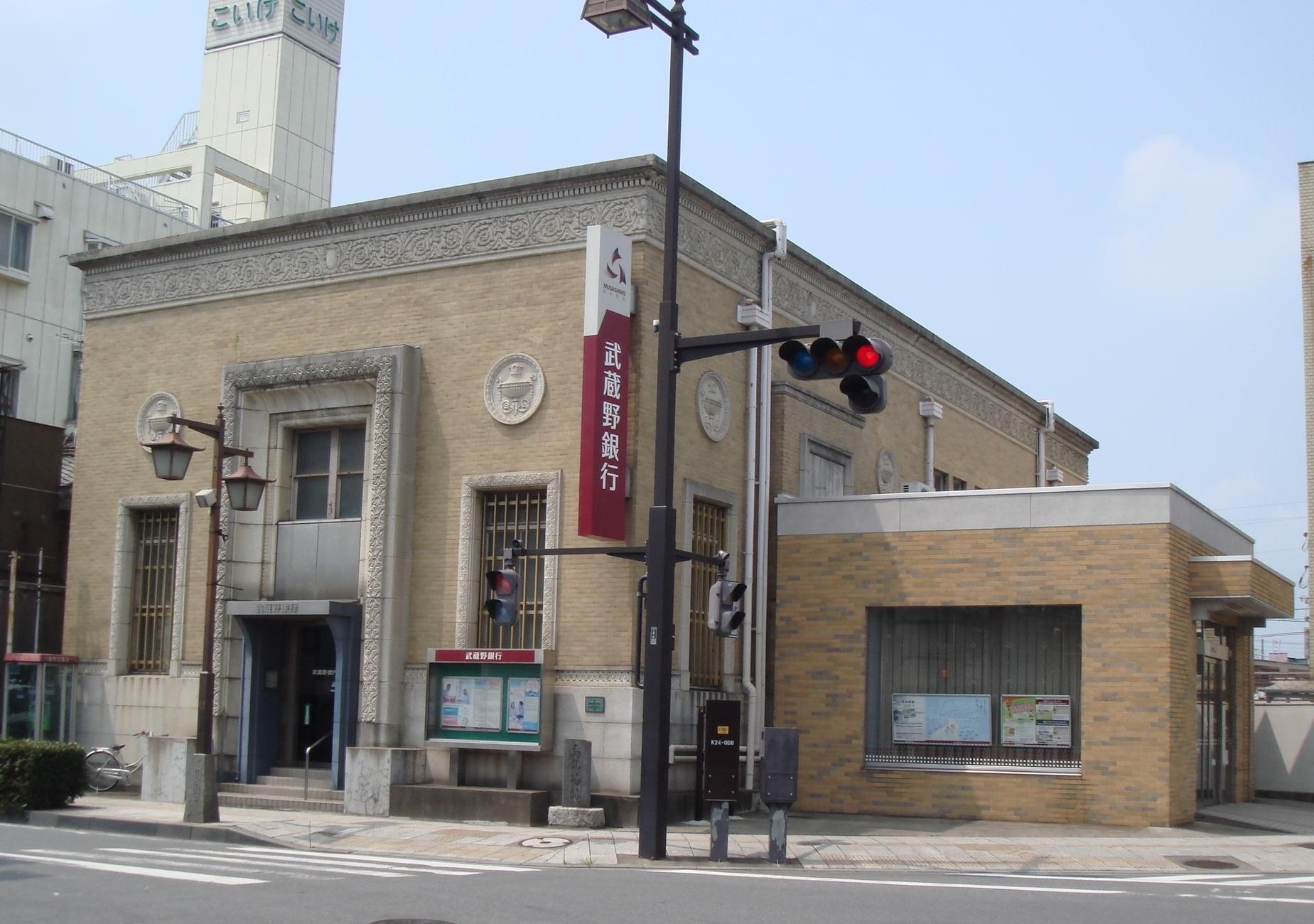 武蔵野銀行行田支店店舗