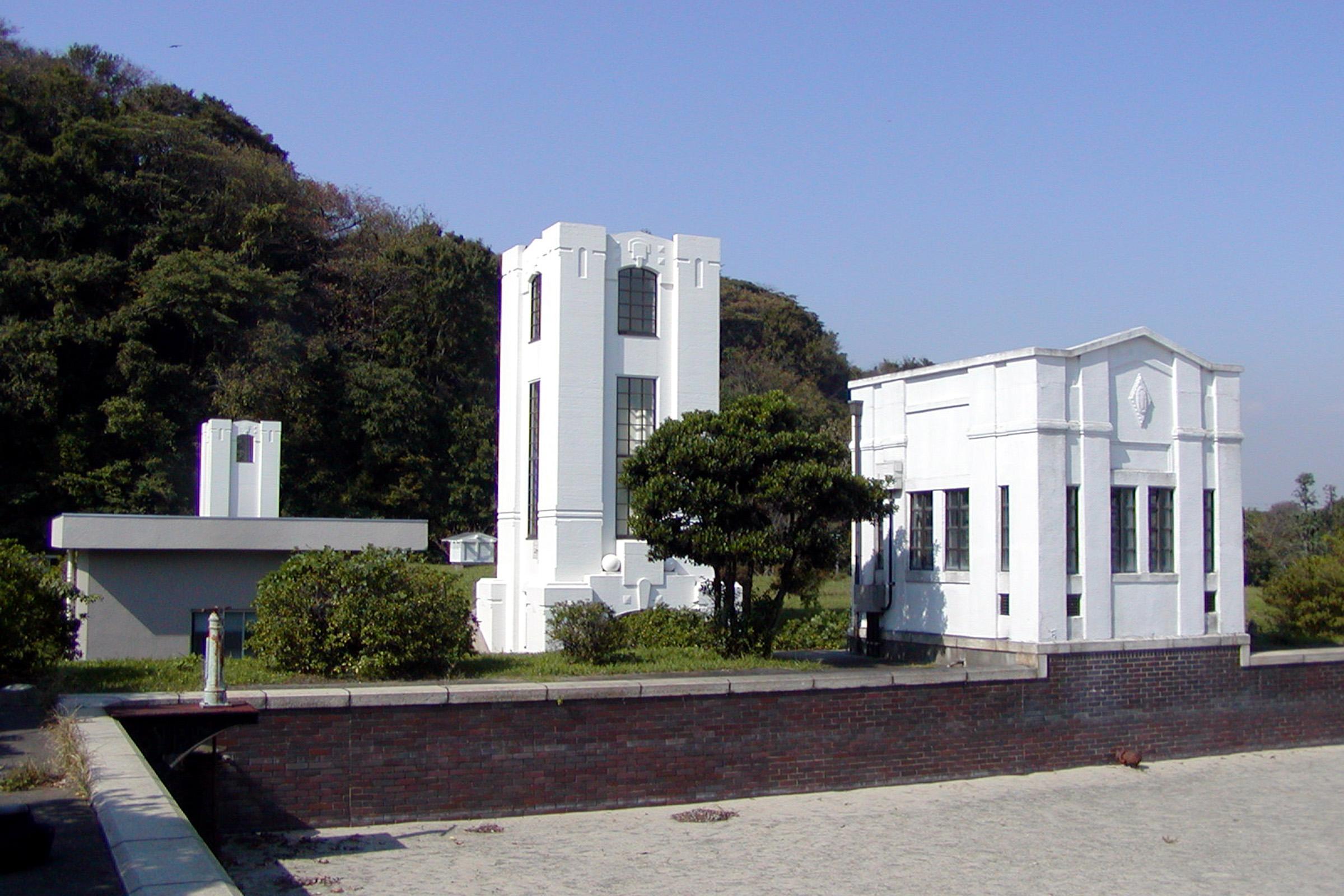 横須賀市上下水道局逸見浄水場緩速ろ過池調整室・配水池入口
