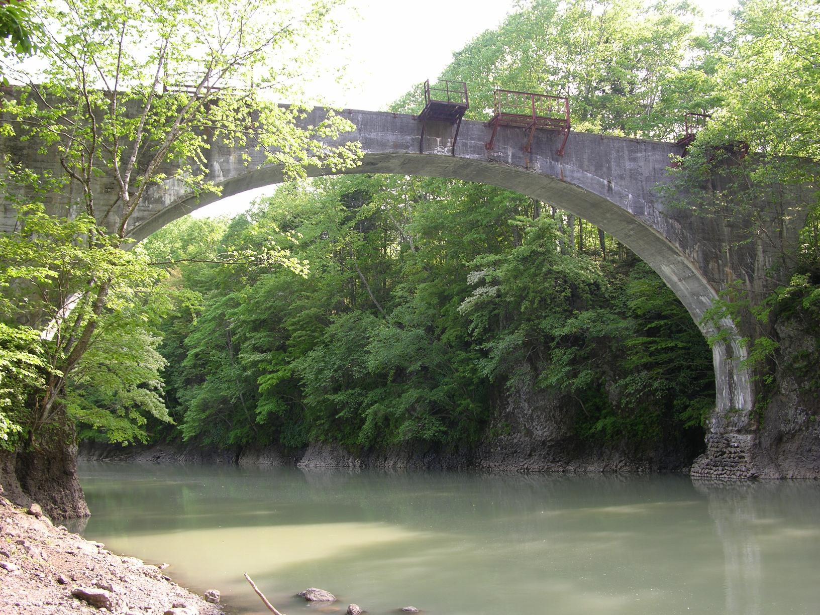 旧国鉄士幌線 第三音更川橋梁