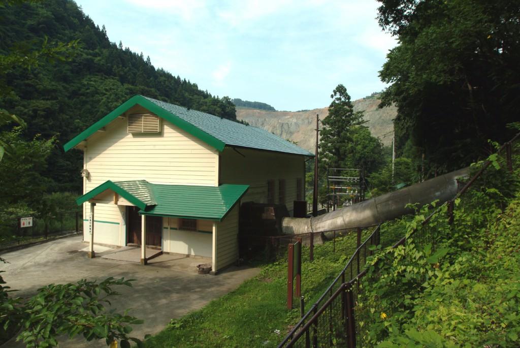 旧島守発電所