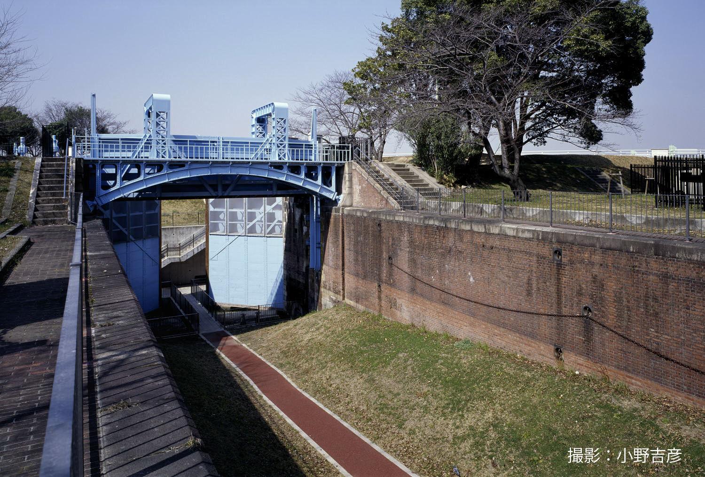 淀川旧分流施設 毛馬第一閘門