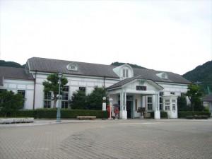 旧萩駅舎(萩市自然と歴史の展示館)