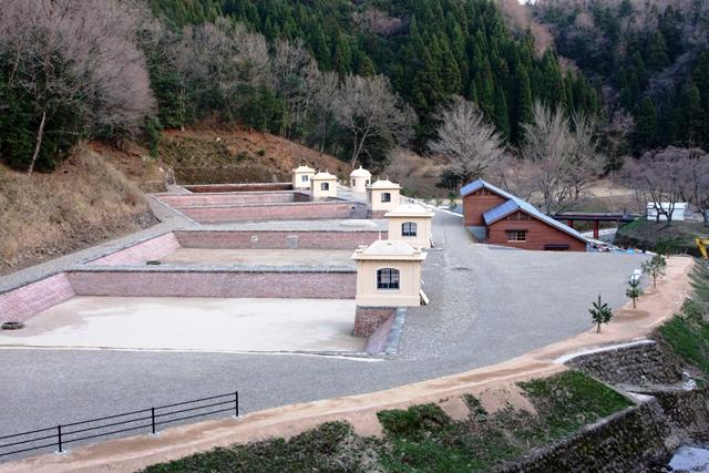 重要文化財旧美歎水源地水道施設