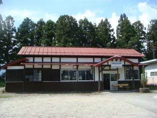 山形鉄道羽前成田駅