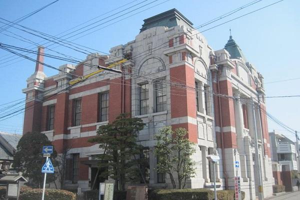岡崎信用金庫資料館(旧岡崎銀行)