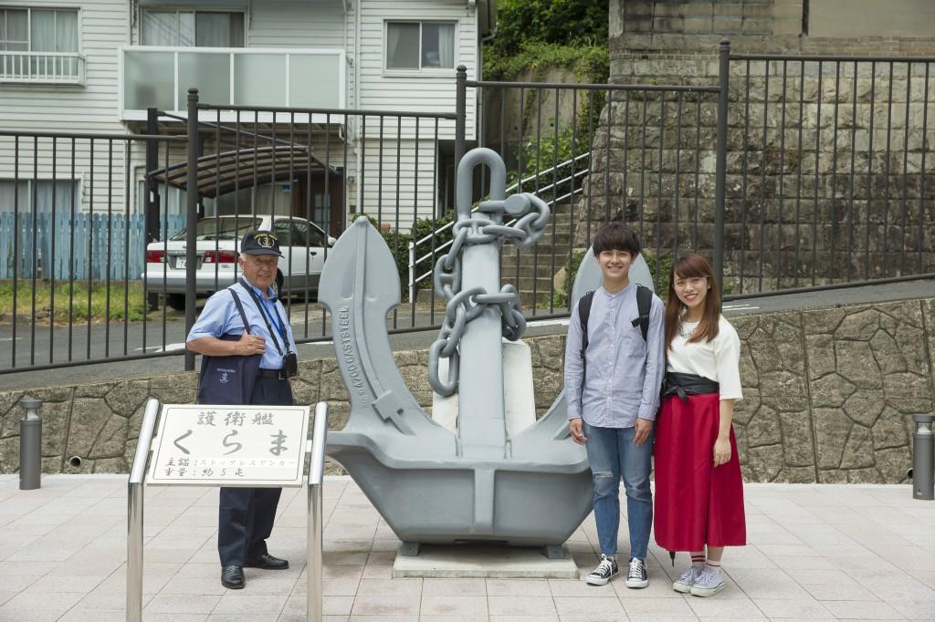 日本遺産を巡る「海軍さんの散歩道」