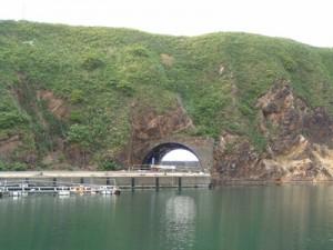 石崎漁港トンネル