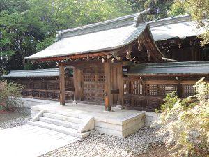 青葉神社中門及び祝詞舎