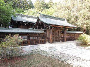 青葉神社透塀