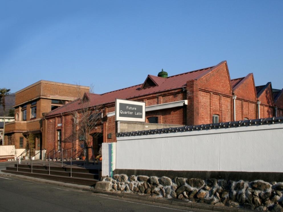 ベーカリーカフェ・レンガ(旧株式会社金芳織物工場)