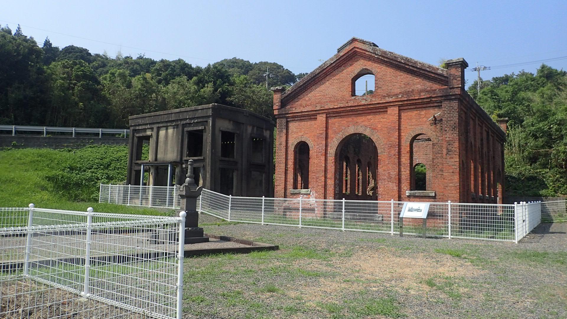 松島炭鉱第四坑跡(長崎県指定史跡)