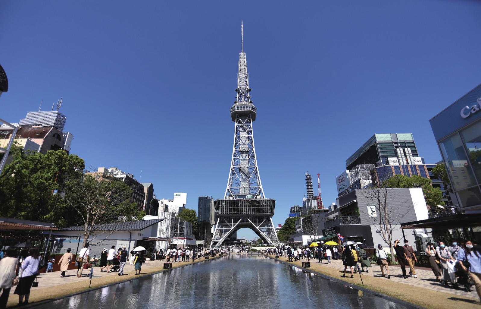 名古屋テレビ塔 MIRAIタワーとして再生された新・テレビ塔の魅力を紹介!